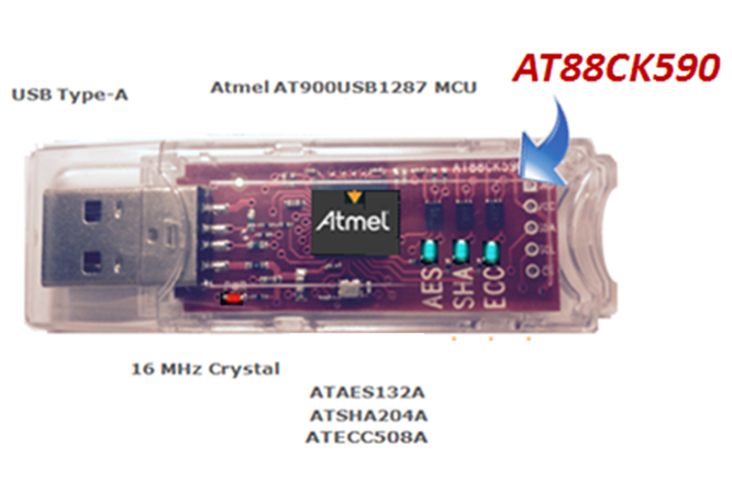ATECC508A CryptoAuthentication Eval Kit