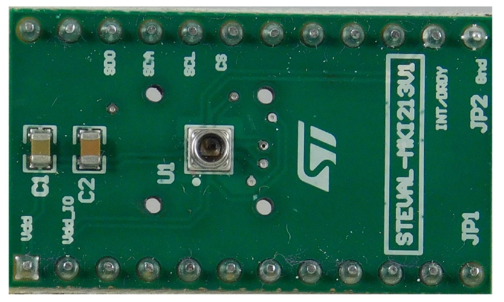 LPS27HHW adapter board for a standard DIL24 socket