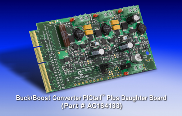 Buck/Boost Converter PICtail Plus Daughter Board