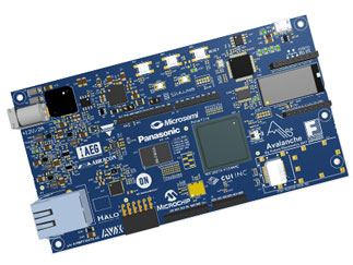 Future Microsemi PolarFire MPF300 Avalanche Eval Board 2.0 - EU Power Supply
