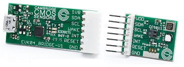 CCS811 evaluation kit (USB to I2C Bridge + CCS811 Sensor daughter board)