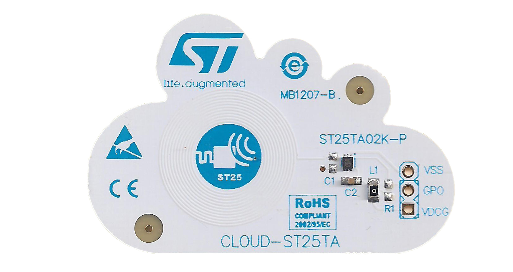Evaluation board for ST25TA series