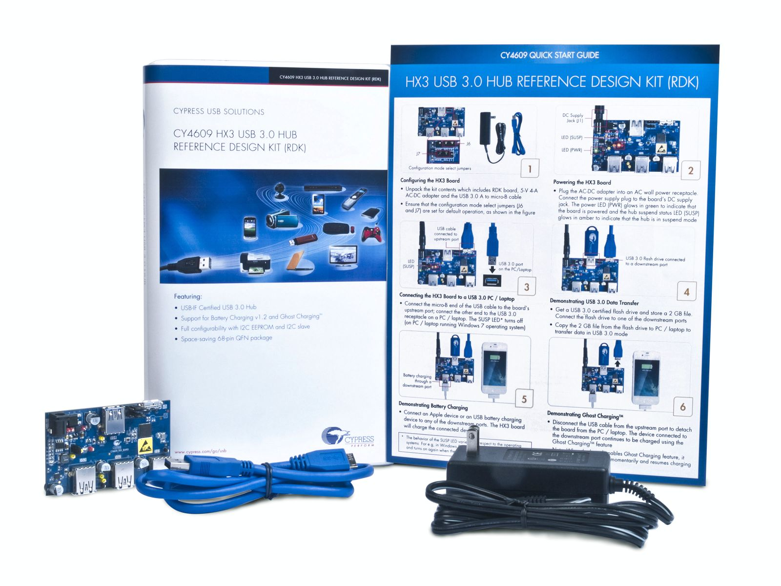 HX3 USB 3.0 Hub Reference Design Kit