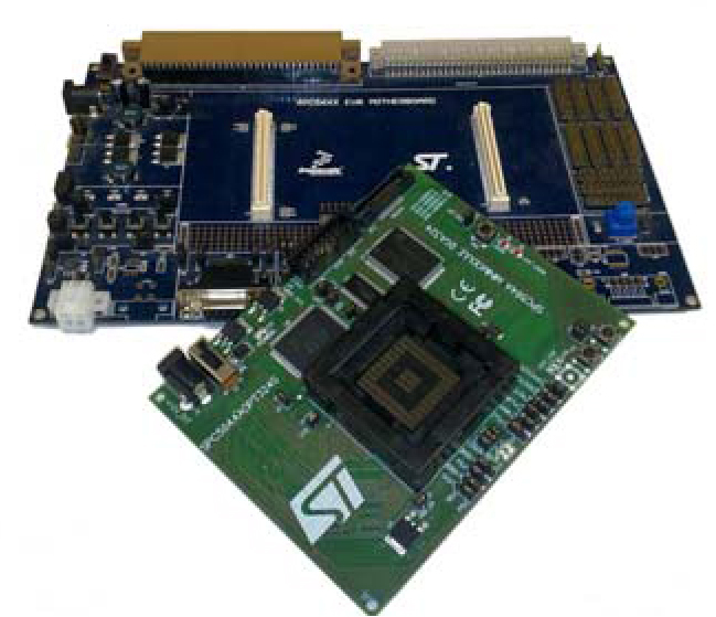 Evaluation motherboard for SPC56 series microcontrollers
