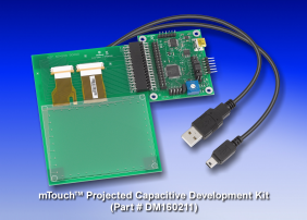mTouch Projected Capacitive Development Kit