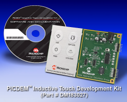 PICDEM Inductive Touch Development Kit