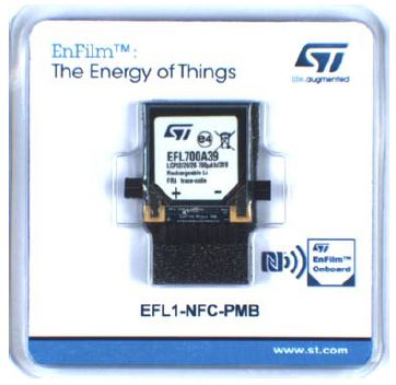 EnFilm™ EFL700A39 power management board with NFC wireless smart charger