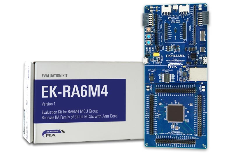 EK-RA6M4 Evaluation Kit for RA6M4 MCU Group