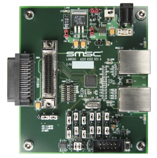 LAN9303 Small Form-Factor 3 Port Managed 10/100 Ethernet Switch