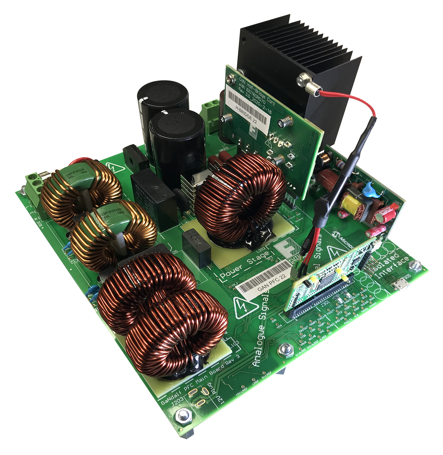 CoolGaN based digital Power Factor Correction development system