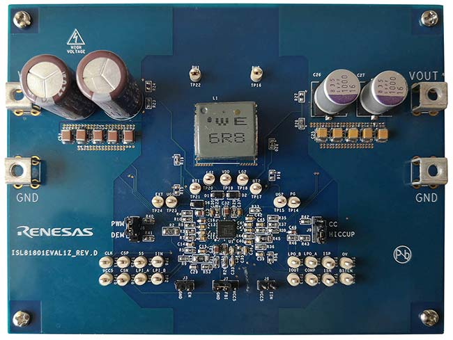 80V Bidirectional 4-Switch Synchronous Buck-Boost Controller