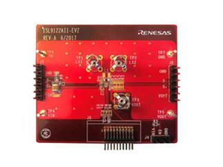 Ultra-Low Iq Buck-Boost Regulator with Bypass Evaluation Board for ISL9122AIINZ
