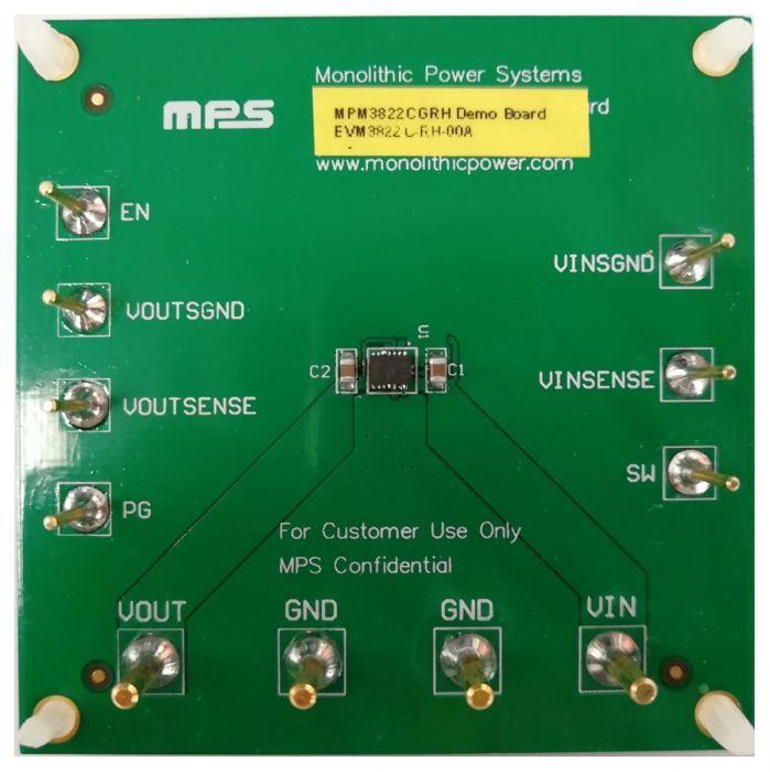 2A Synchronous Step-down Module Evaluation Board