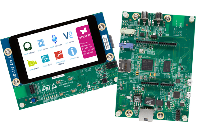 Discovery kit with STM32F769NI MCU