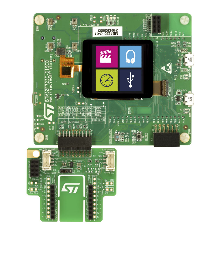 Discovery kit with STM32F723IE MCU