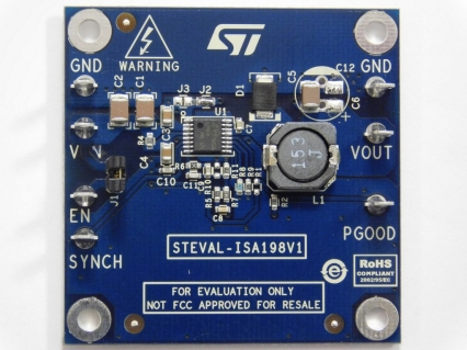 2 A step down DC - DC switching regulator (VIN = 4.5 V to 60 V) based on the L7987L