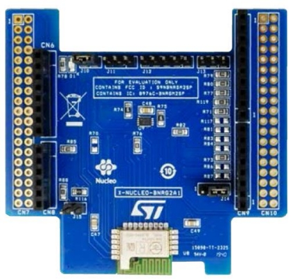 Bluetooth Low Energy expansion board based on the BLUENRG-M2SP module for STM32 Nucleo