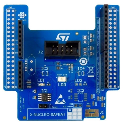 Secure element expansion board based on STSAFE-A110
