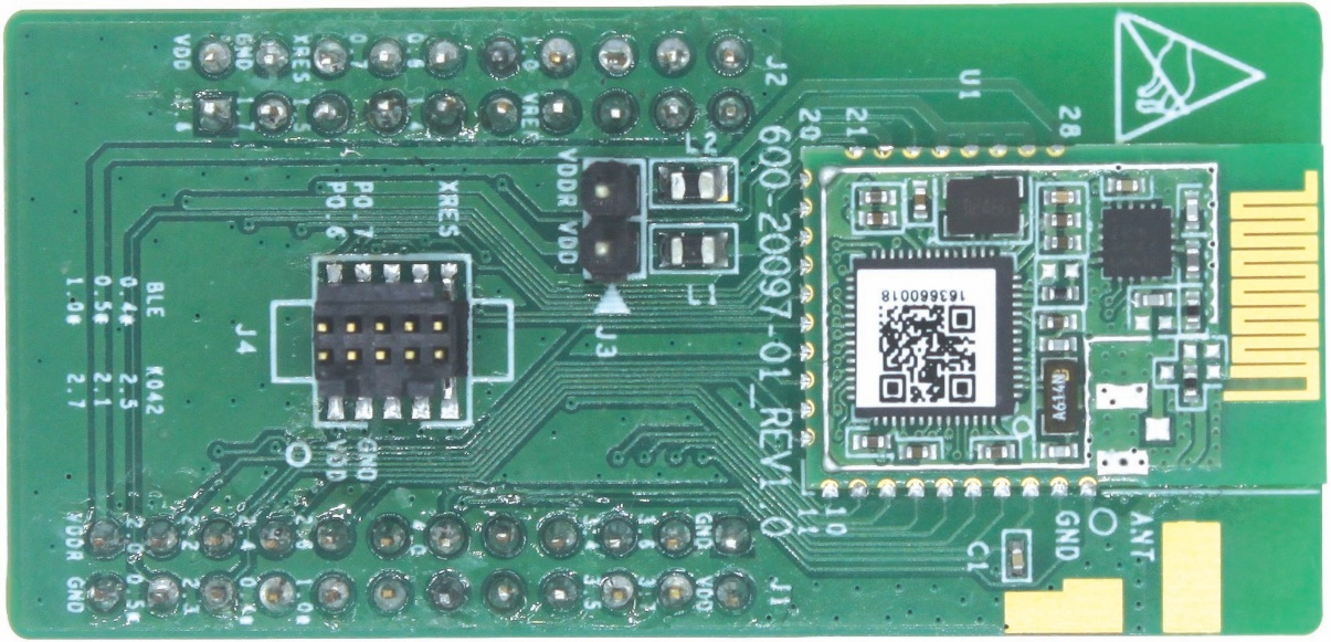 EZ-BLE™ PRoC® Evaluation Board