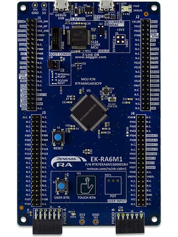 Evaluation Kit for RA6M1 MCU Group
