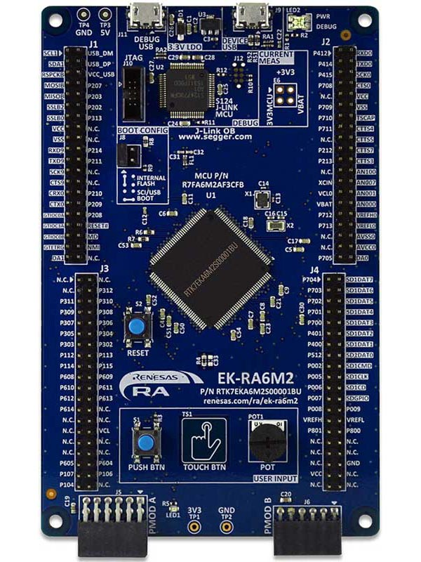 Evaluation Kit for RA6M2 MCU Group