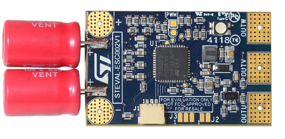 Electronic Speed Controller reference design based on STSPIN32F0A