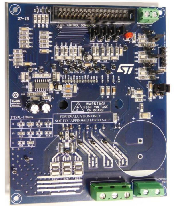 1200 W motor control power board based on STGIB10CH60TS-L SLLIMM™ 2nd series IPM