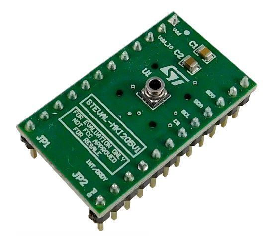 LPS33W adapter board for a standard DIL24 socket