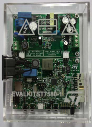 ST7580 Power Line Networking System On Chip Demonstration kit