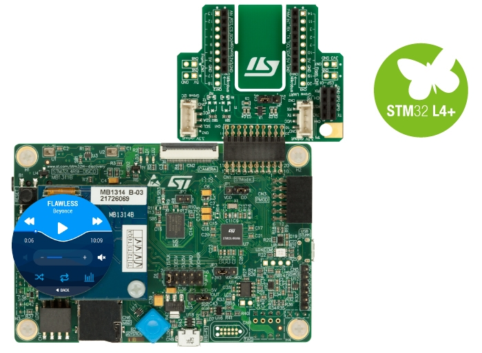 Discovery kit with STM32L4R9AI MCU