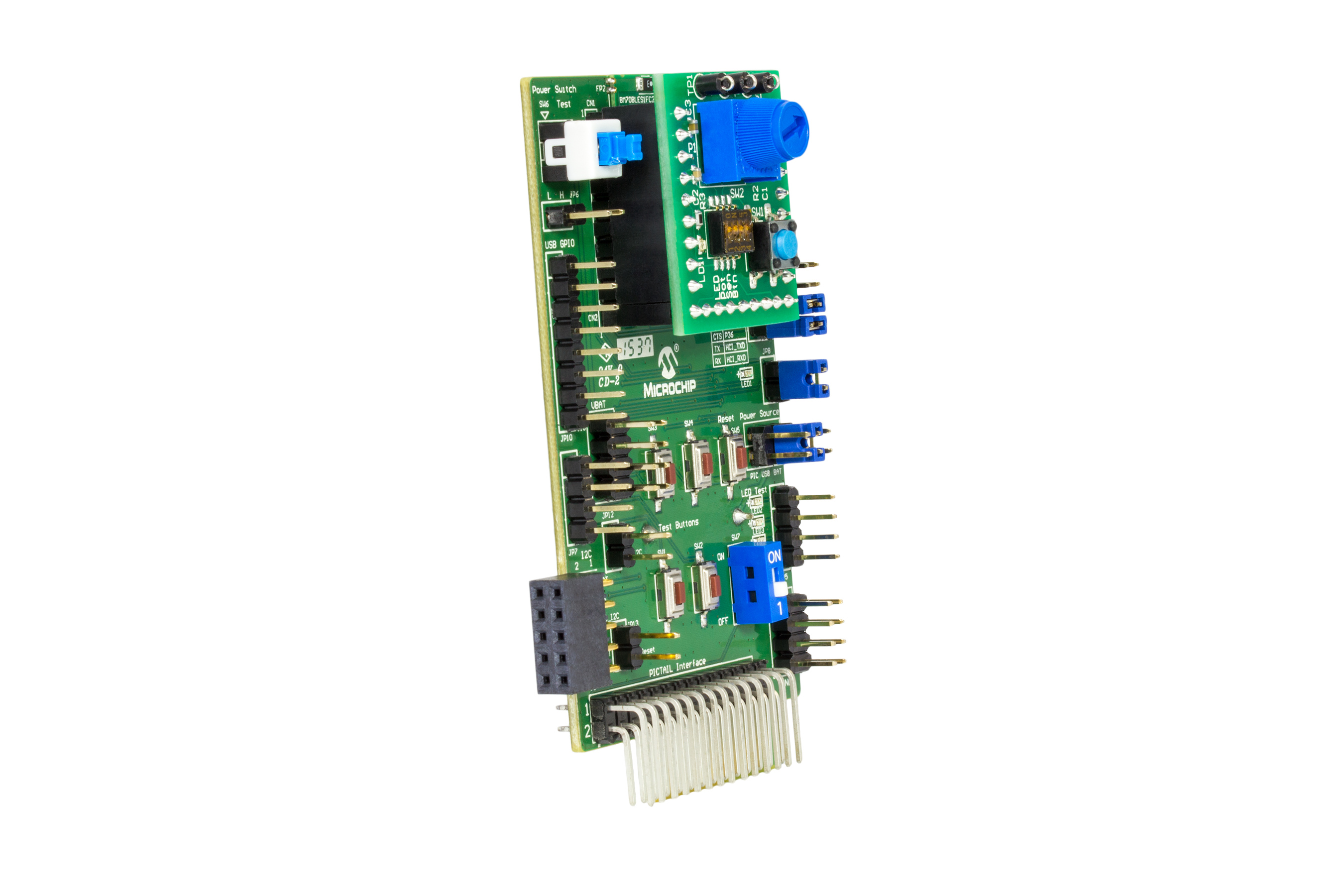 Bluetooth Low Energy PICtail / PICtail Plus Daughter Board