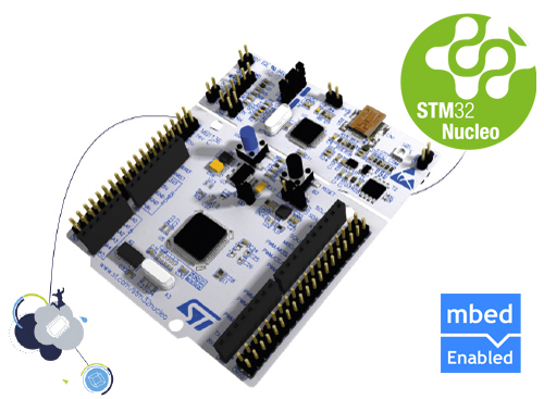 Nucleo development board for STM32 L0 series - with STM32L053R8 MCU, supports Arduino
