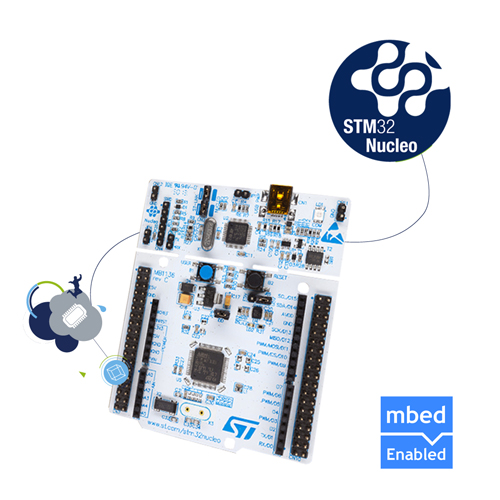 Nucleo development board for STM32 F3 series - with STM32F334R8 MCU,supports Arduino