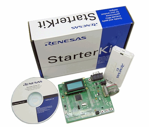 Renesas Starter Kit for RL78/G14 (Kit with e2studio)