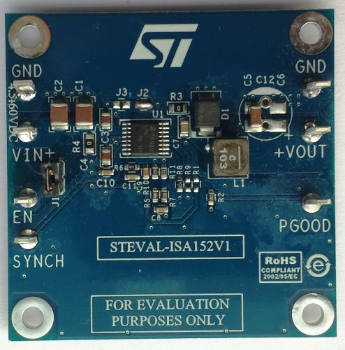 3.3 V/3 A high efficiency step down DC-DC converter (VIN= 4.5 to 60 V) based on the L7987