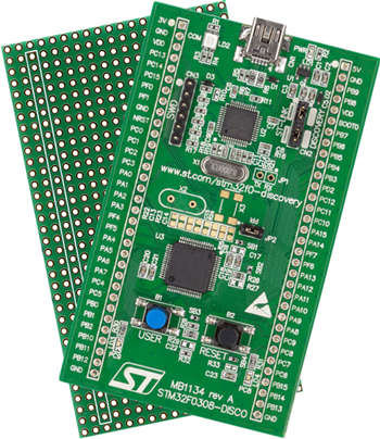 Discovery kit for STM32 F030 Value line - with STM32F030R8 MCU